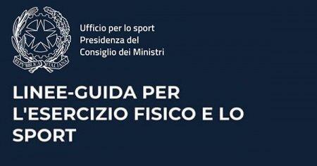 LINEE GUIDA PER L'ESERCIZIO FISICO E SPORT