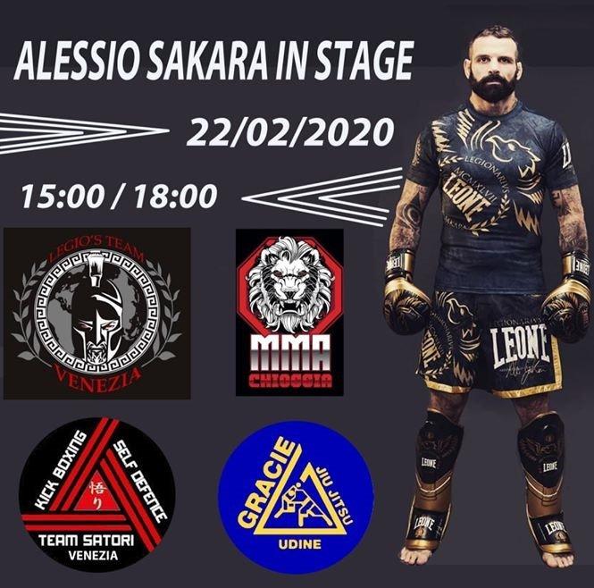 Alessio Sakara in Stage 22/02/2020
