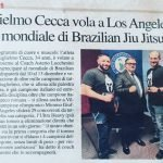 Guglielmo Cecca vola a Los Angeles