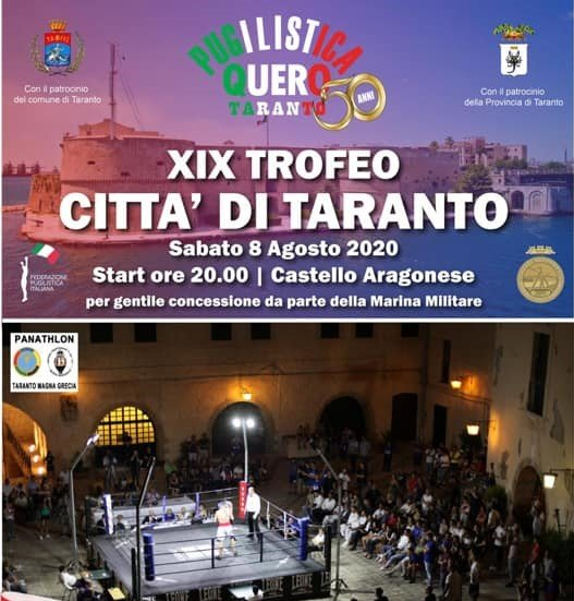 XIX° Trofeo Città di Taranto 8 Agosto