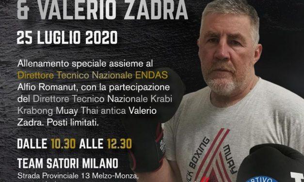 Allenamento speciale con Alfio Romanut e Valerio Zadra