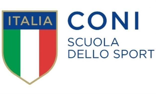 1° Corso ENDAS – Scuola dello Sport CONI 29-30 giugno