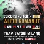 Corsi istruttori K1 2021 con Alfio Romanut