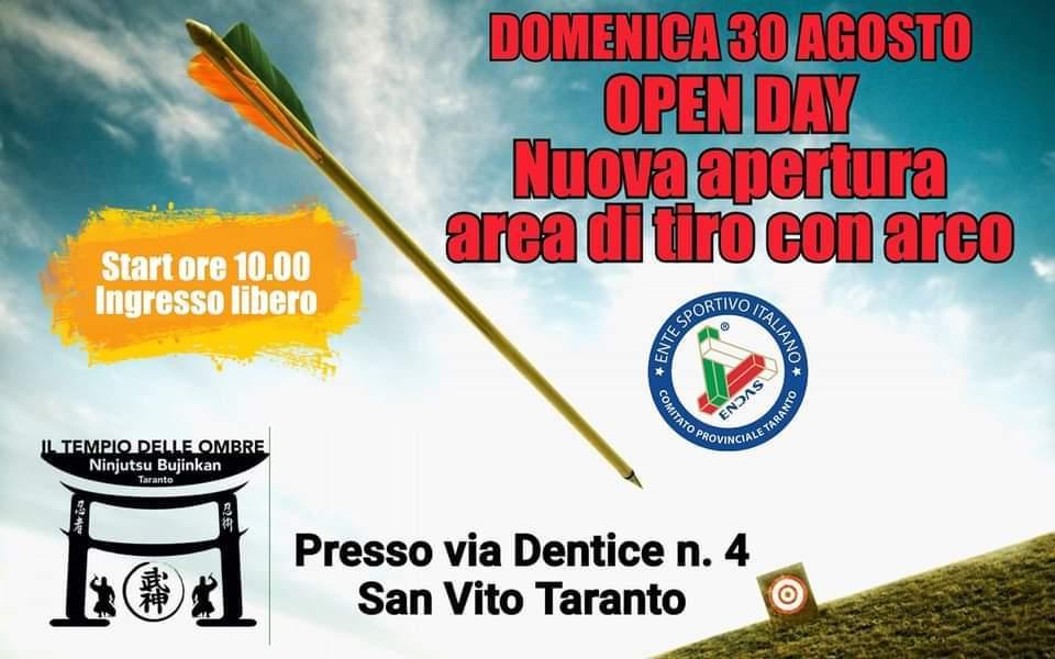 Open Day Tiro con Arco 30 Agosto