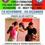 Corso di formazione Pad Man sport da combattimento