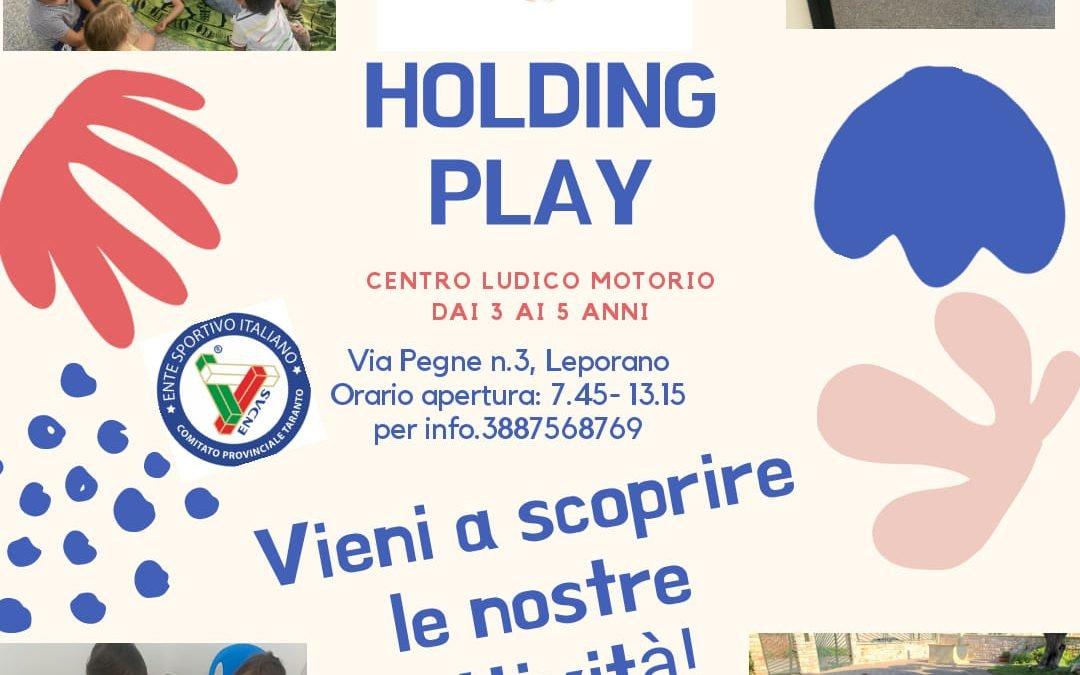 Holding Play: attività didattiche per bambini