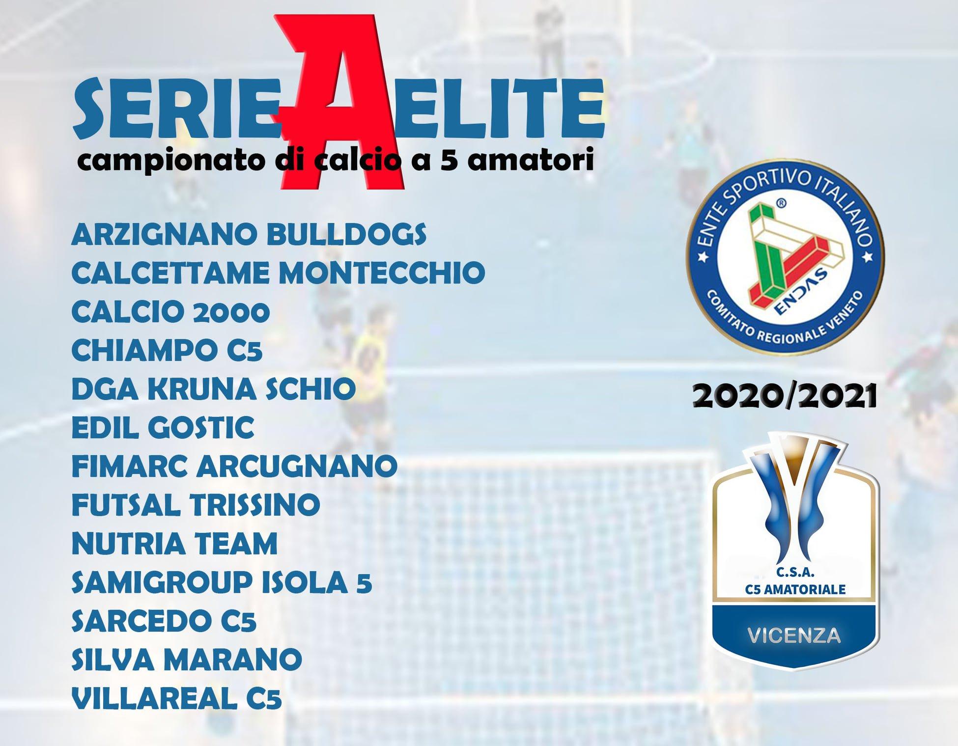 Campionato Regionale Veneto calcio a 5 2020/2021