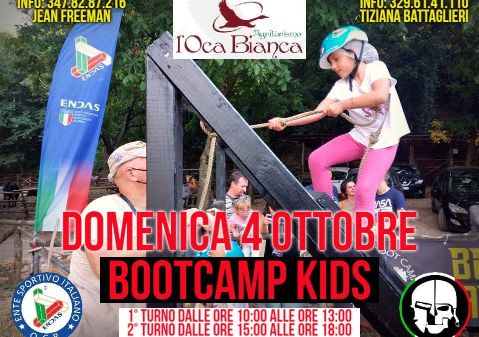OCR: bootcamp kids 4 ottobre