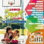 L'Arca Sport Village 26 - 27 settembre