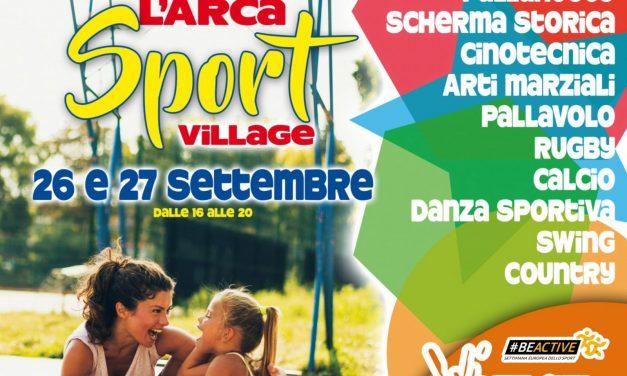 L'Arca Sport Village 26 – 27 settembre