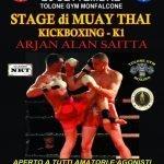 Stage Muay Thai, Kick Boxing e K1 26 settembre