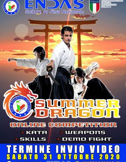 SUMMER DRAGON: Gara virtuale di forme ed esibizioni Jujitsu