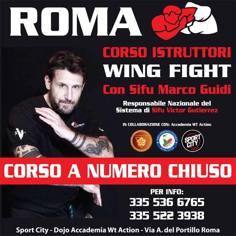 Corso istruttori Wing Fight 3 ottobre