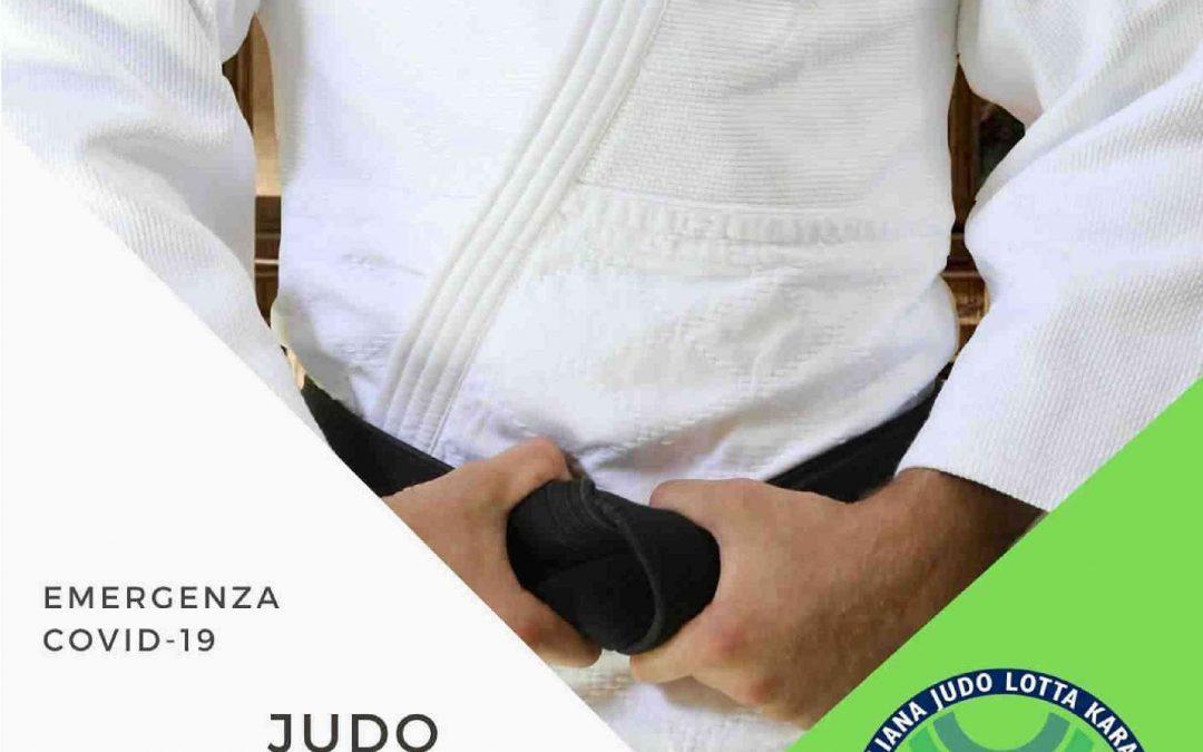 Judo: raccomandazioni da seguire per la ripartenza in sicurezza