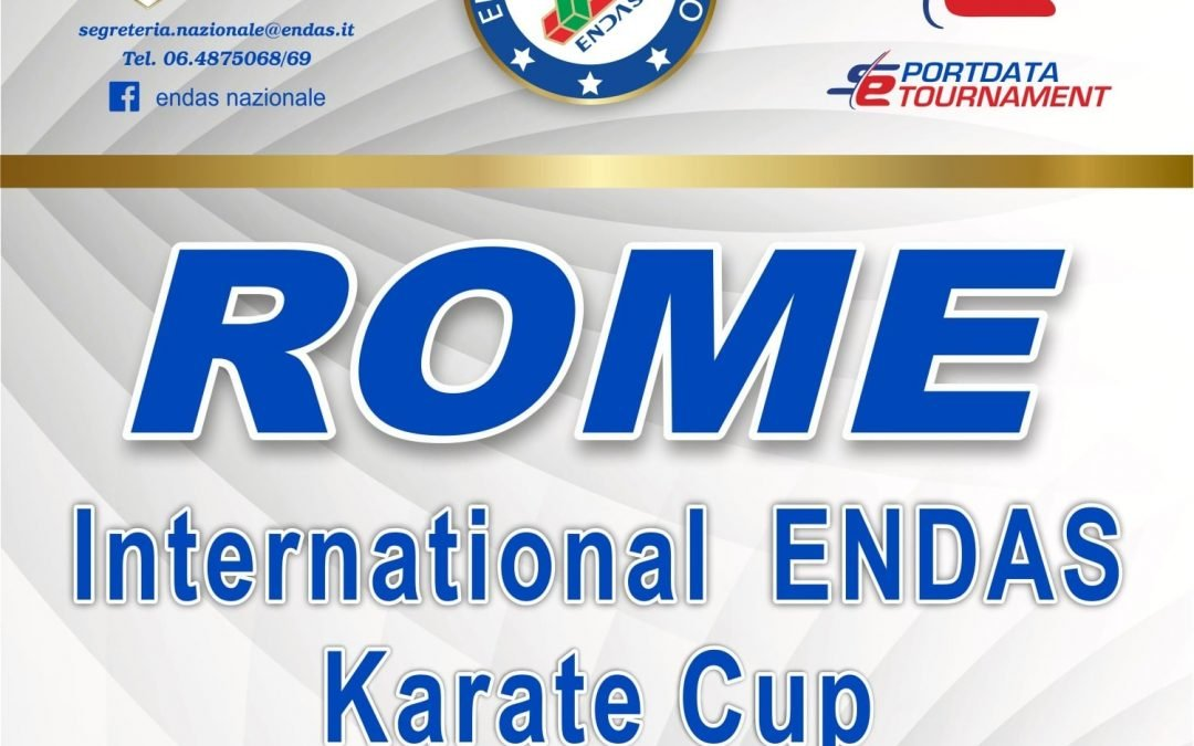 Rome International ENDAS Karate Cup