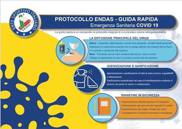 Avvertenze protocollo ENDAS
