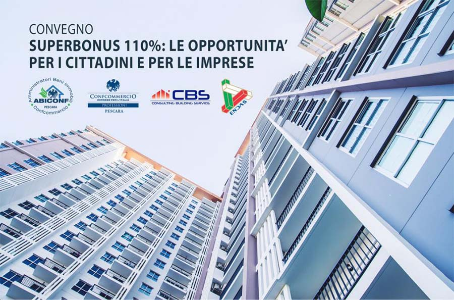 Superbonus 110%, convegno per cittadini ed imprese