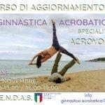 Corso di aggiornamento online Acroyoga 21-22 Novembre