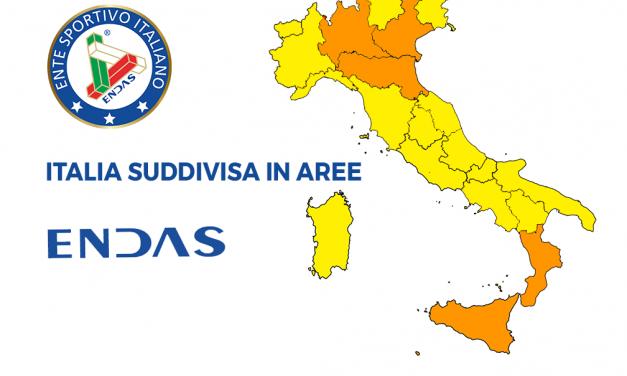 COVID-19: la nuova suddivisione in zone colorate