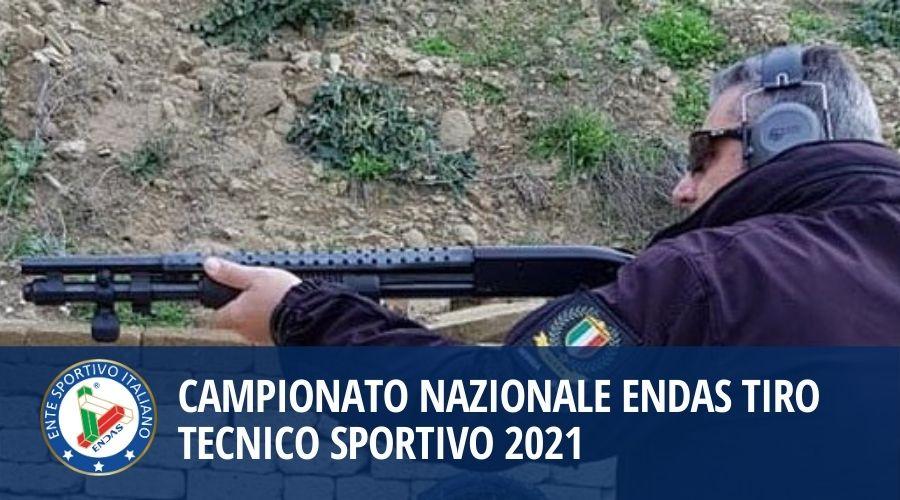 Campionato Nazionale ENDAS Tiro Tecnico Sportivo 2021