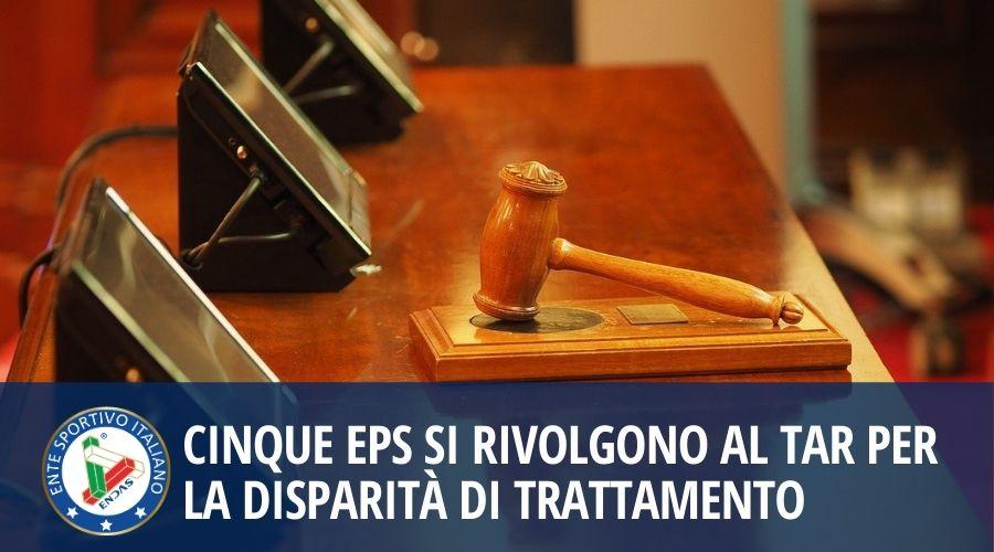 Cinque EPS si rivolgono al TAR per la disparità di trattamento