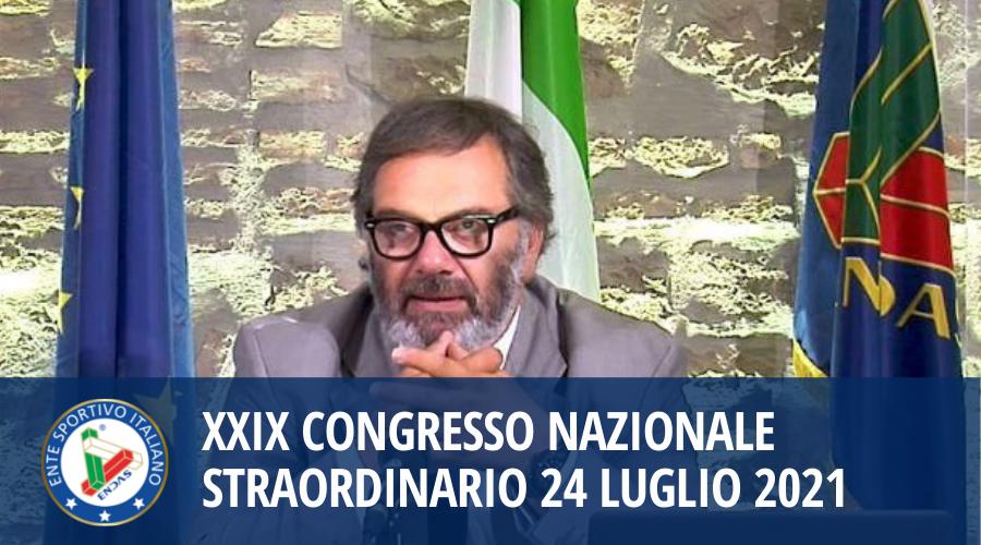 XXIX Congresso Nazionale Straordinario 24 Luglio 2021