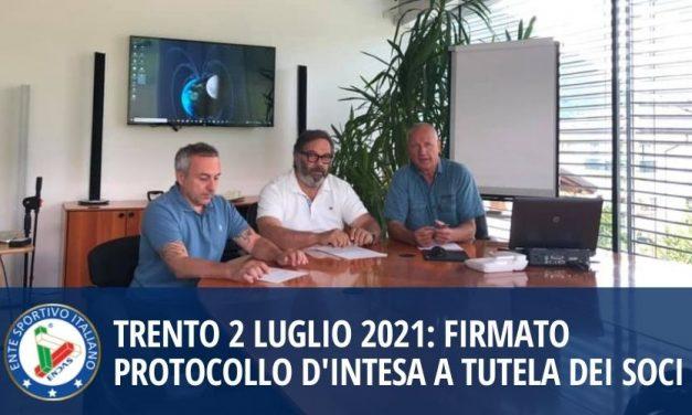 Trento 2 Luglio 2021: firmato protocollo d'intesa a tutela dei soci